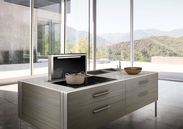 Faber downdraft kitchen Hood